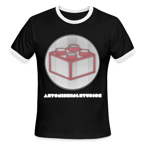 AstonishingStudios Tee - Men's Ringer T-Shirt