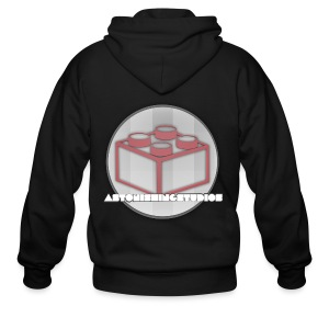 AstonishingStudios Tee - Men's Zip Hoodie