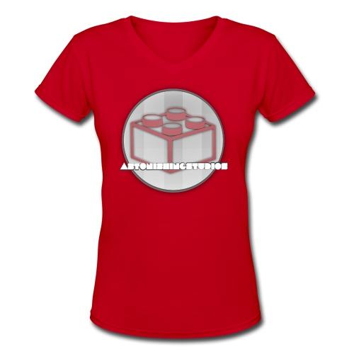 AstonishingStudios Tee - Women's V-Neck T-Shirt