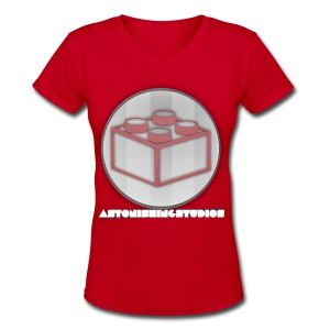AstonishingStudios Tee - Women's V-Neck T-Shirt