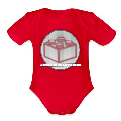 AstonishingStudios Tee - Organic Short Sleeve Baby Bodysuit