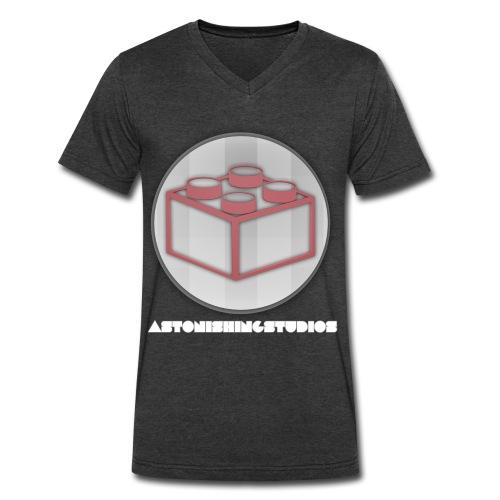 AstonishingStudios Tee - Men's V-Neck T-Shirt by Canvas