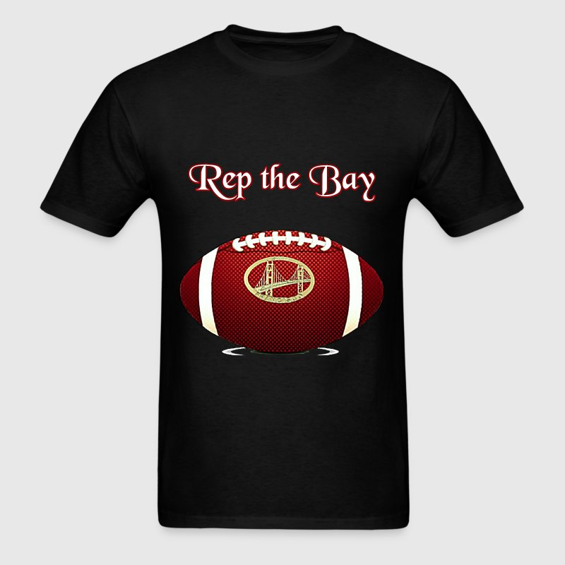 Rep the Bay  - Men's T-Shirt