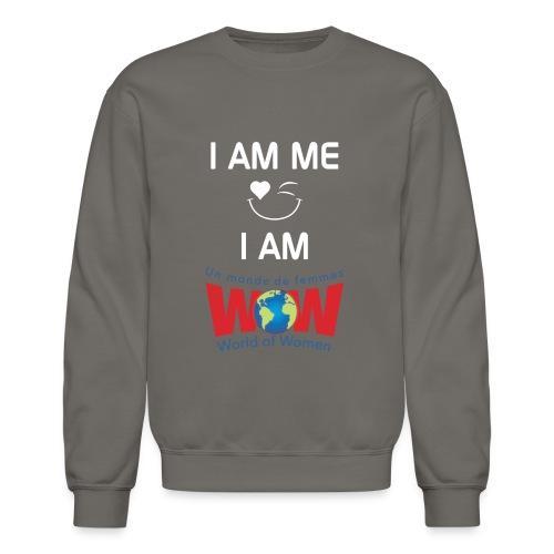I AM ME-I AM WOW  %100 cotton - Crewneck Sweatshirt