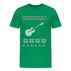 Ukulele Christmas / Holiday T-shirt - Men's Premium T-Shirt