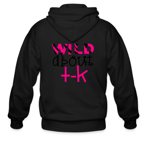 Wild About TK (Transitional Kindergarten) - Men's Zip Hoodie