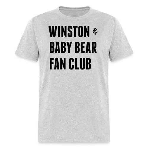 for Kati- Winston & Baby Bear Fan Club - Men's T-Shirt