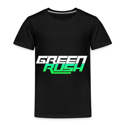 GREEN RUSH Shirt - Toddler Premium T-Shirt