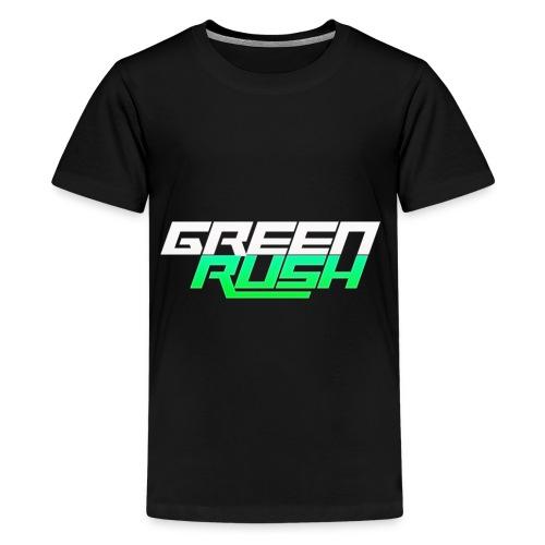 GREEN RUSH Shirt - Kids' Premium T-Shirt