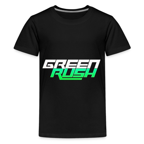 GREEN RUSH Shirt - Kids' Premium T-Shirt