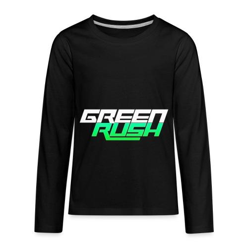 GREEN RUSH Shirt - Kids' Premium Long Sleeve T-Shirt