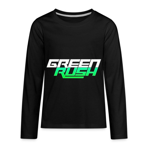 GREEN RUSH Shirt - Kids' Premium Long Sleeve T-Shirt