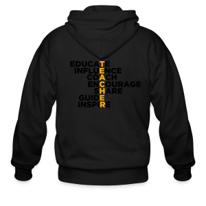 Teachers Do All These Things - Men's Zip Hoodie