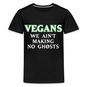 No Ghosts - Kids' Premium T-Shirt