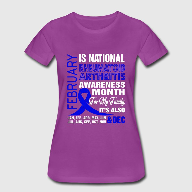 Rheumatoid arthritis awareness month - Women's Premium T-Shirt