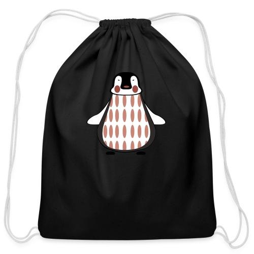 pinguin - Cotton Drawstring Bag