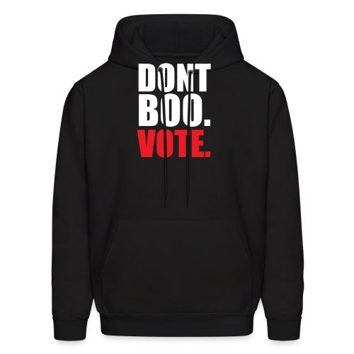 Obama Dont Boo Vote Deluxe Tee W - Men's Hoodie