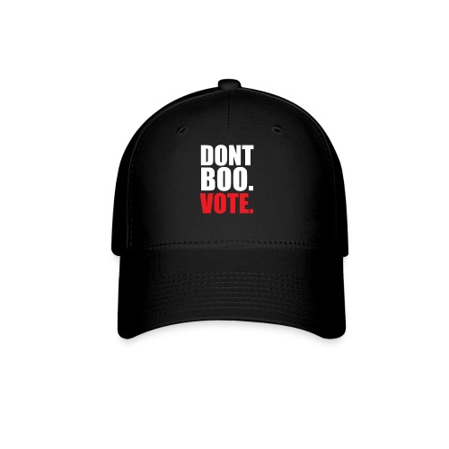 Obama Dont Boo Vote Deluxe Tee W - Baseball Cap