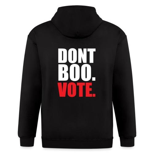 Obama Dont Boo Vote Deluxe Tee W - Men's Zip Hoodie