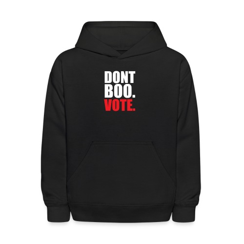 Obama Dont Boo Vote Deluxe Tee W - Kids' Hoodie