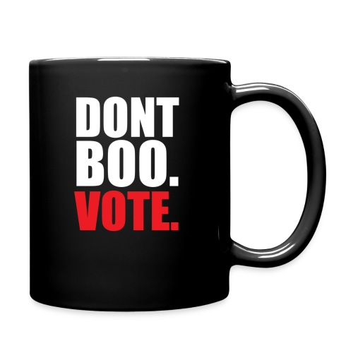 Obama Dont Boo Vote Deluxe Tee W - Full Color Mug