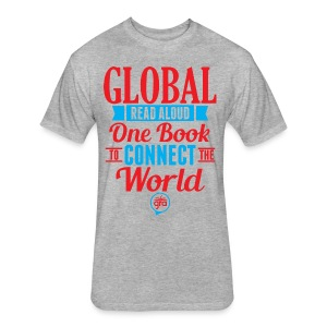 Men's Hoodie for Global Read Aloud  - Fitted Cotton/Poly T-Shirt by Next Level