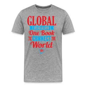 Men's Hoodie for Global Read Aloud  - Men's Premium T-Shirt