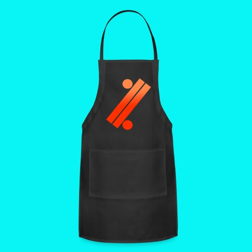 Neon Apple Tee - Adjustable Apron