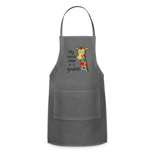 My favorite color is a.... - Adjustable Apron