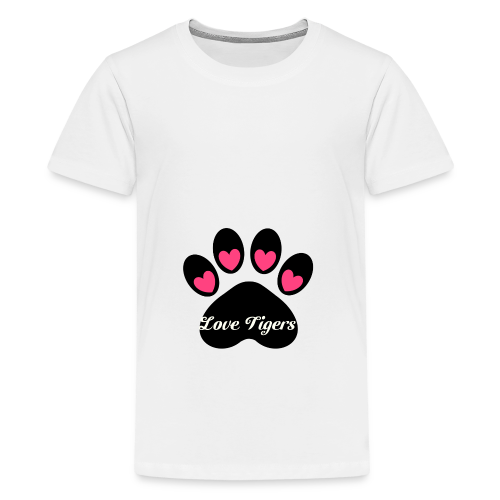 Love tiger - Kids' Premium T-Shirt