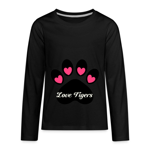 Love tiger - Kids' Premium Long Sleeve T-Shirt