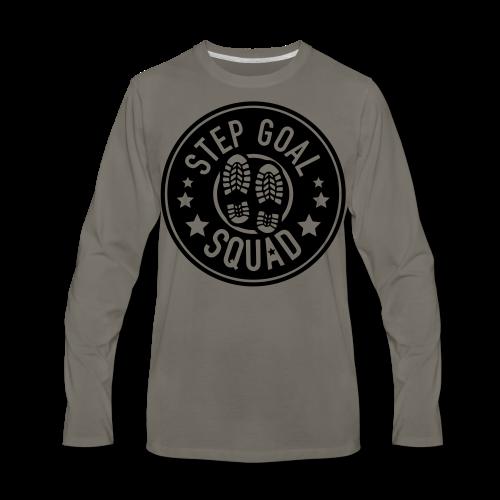 Step Goal Squad #1 Design - Men's Premium Long Sleeve T-Shirt