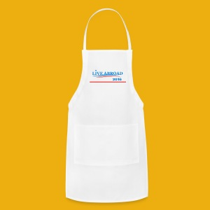 Live Abroad Male T  - Adjustable Apron