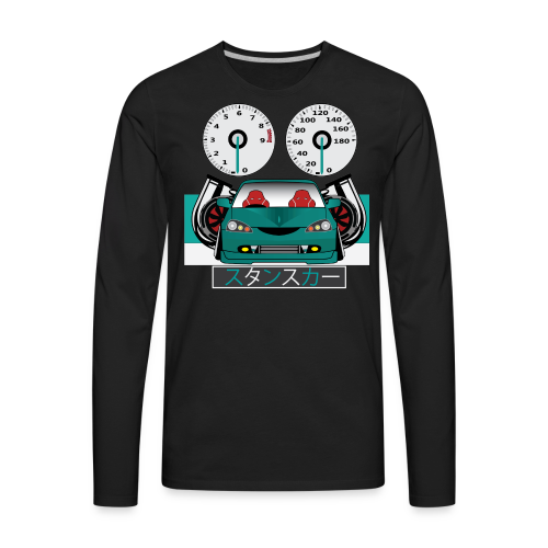 Stance Japan 5 - Men's Premium Long Sleeve T-Shirt