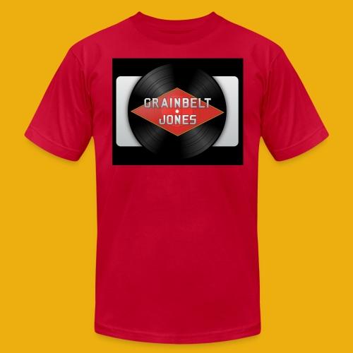 Grainbelt Retro Logo - Men's Fine Jersey T-Shirt