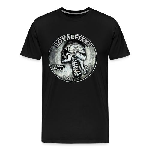 Royal Fixxx® 25 Cents - Men's Premium T-Shirt