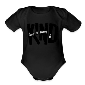 Patient & Kind - Short Sleeve Baby Bodysuit