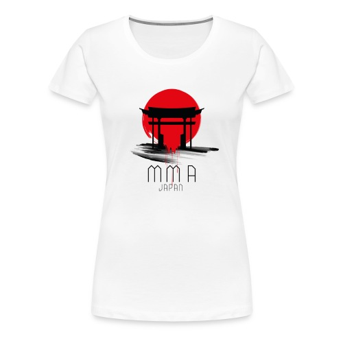 MMA JAPAN - Women's Premium T-Shirt