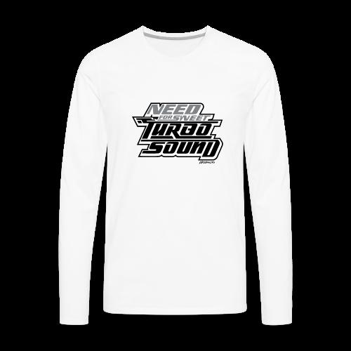 Need For Sweet Turbo Sound - Men's Premium Long Sleeve T-Shirt