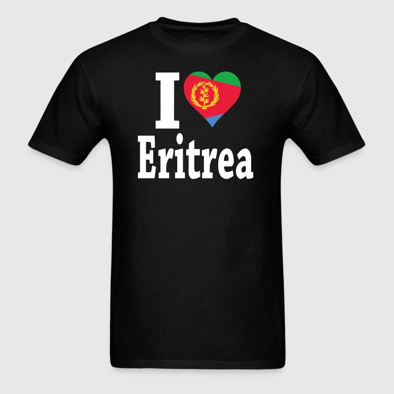 I Love Eritrea Flag t-shirt - Men's T-Shirt