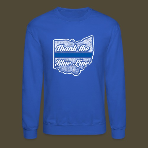 Blue Line Ohio - Crewneck Sweatshirt
