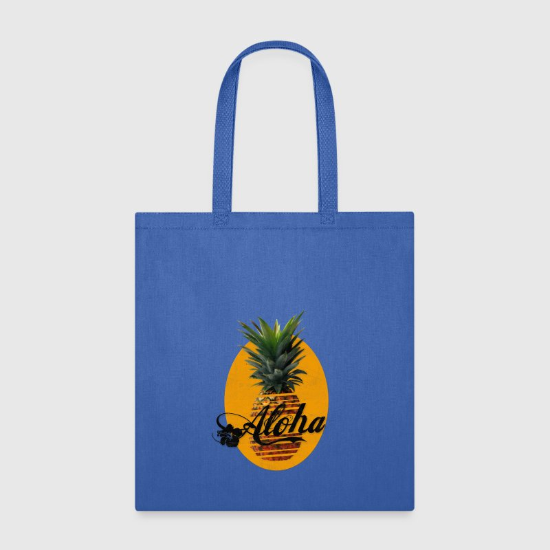 Pineapple Aloha Hawaii Usedlook Bags & backpacks - Tote Bag