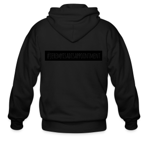 Jeremy is a Disappointment - Men's Zip Hoodie