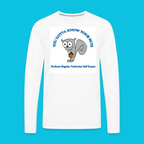 Check Yourself! - Men's Premium Long Sleeve T-Shirt