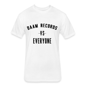 DAAM Records Vs Everyone T-shirt - Fitted Cotton/Poly T-Shirt by Next Level