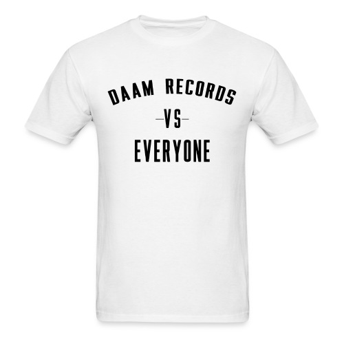 DAAM Records Vs Everyone T-shirt - Men's T-Shirt