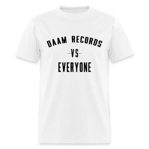 DAAM Records Vs Everyone T-shirt - Men's T-Shirt