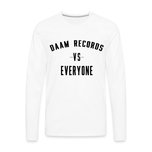 DAAM Records Vs Everyone T-shirt - Men's Premium Long Sleeve T-Shirt