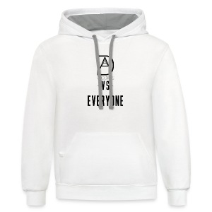 DAAM Records Vs Everyone (Logo Style) T-shirt - Contrast Hoodie
