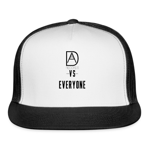 DAAM Records Vs Everyone (Logo Style) T-shirt - Trucker Cap